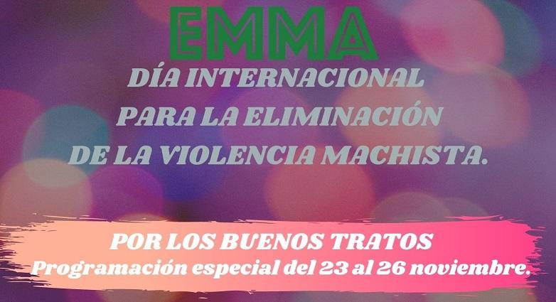PROGRAMACIÓN ESPECIAL 25N